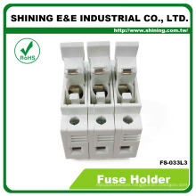 FS-033L3 With Indicator 600V 32A 3 Position Din Rail Fuse Holder
