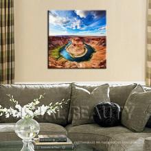 Pinturas simples del arte del barranco americano