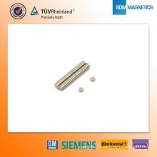 Aimant de néodyme de D3 * 1mm N42
