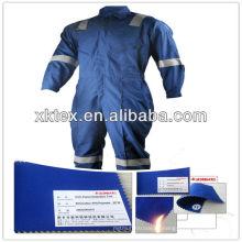 Coverall de proteção contra incêndio CVC, autorizado pela SGS