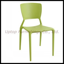 Coffee Shop Furniture Green Plastic Side Chair (SP-UC308)