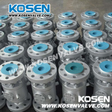Three Pieces Full Bore Forged Steel Floating Ball Valves
