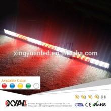 28 luces de emergencia de color ámbar wanring barra de luz ámbar luz estroboscópica señal de advertencia barras de luz