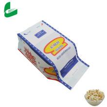 Palomitas de maíz de papel Kraft a prueba de grasa