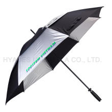 "Double Layered 30"" Windproof Golf Umbrella"