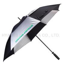 """Doppelschicht 30 """"Windproof Golf Regenschirm"""