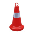 50cm orange PE plastic traffic safety cones