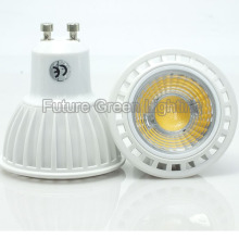 Nueva lámpara de la COB LED de 85-265V CE GU10 5W Dimmable