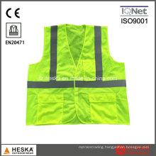High Visibility Men Safety Vest