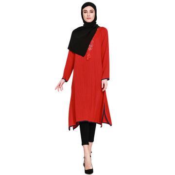 Hersteller neues Modell arabische Dubai muslimische Abaya Kleid Kollektion