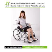Alumínio liga frame leve cadeira de rodas manual com FDA