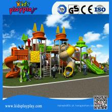 Acessórios para parque infantil Kids Plastic Playhouse Entertainment Equipment
