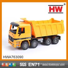 Супер грузовик Детский игрушечный фрикционный грузовик готов к работе, нет необходимости в батареях