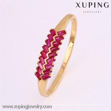 50811 Xuping novo design banhado a ouro barato atacado pulseiras
