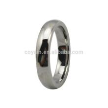 Лучшая цена Серебряный металл Простой палец кольцо