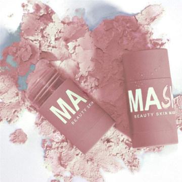 Natural Skin Care Moisturizing Blackhead Pink Clay Mask Stick