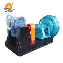 Copper mine centrifugal V belt gravel slurry pump