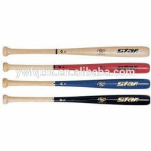 bate de béisbol de calidad superior de madera