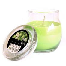 Искусства ароматические свечи в стеклянную банку Eco-Содружественный