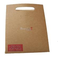 Papiereinkaufstasche mit gestanzten Griffen