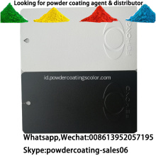 poliester murni penggunaan outdoor powder coating UV resistant