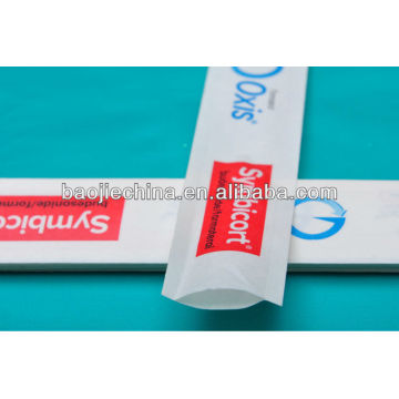 gamma sterile plastic packing bags for gauze swabs