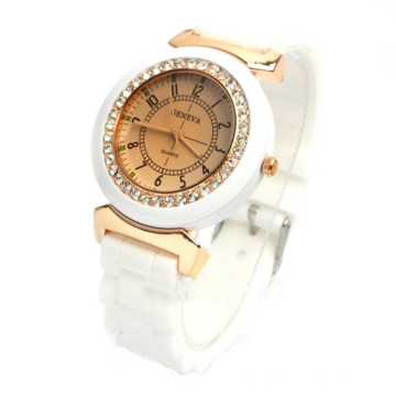 Geneva Jelly Wrist Watch For Women