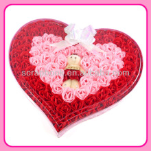 Best Gift Decorative rose shaped soap flowers artificial flower