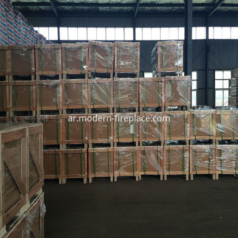 Cost Of Fireplace Production Factory Packaging