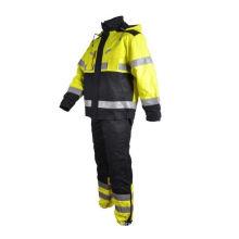 Soldador ignífugo, traje de seguridad contra incendios en el trabajo