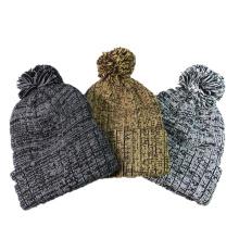 Акриловый пользовательские вязаные пом Шапочка Hat