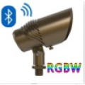Waterproof Bluetooth Dimmable Control Brass RGBW LED Accent/ Landscape Light