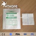 embalaje único hisopo de gasa estéril hecho en China
