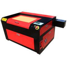 Water Cooling Co2 Sealed Glass Laser Tube And 1000 Dpi Mini Desktop Laser Stamp Engraver