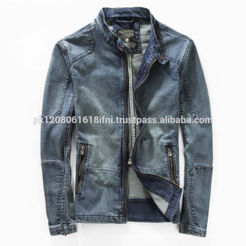 custom made Jeans jacket fashion wear for men and women wholesale 2017