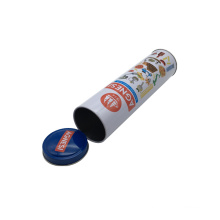 Noodle Tin Can Wholesale Tall Tin Box with Slim Body