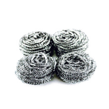 Stainless steel cleaning ball scourer for kitchen cleaning
