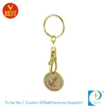 Personalizado Trolley Token Coin Keychain para a Espanha (KD0772)