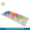 4PCS stationery tapes with 4pcs tape dispenser set