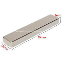 N35 Block Neodym Permanent Seltener Erde Magnet 50X10X5mm