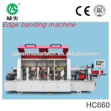 Machine portative de bord de bord de PVC de rendement élevé / bander de bord de haute qualité / fabriqué en Chine
