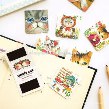 Fresh Cartoon PVC Magnetic Bookmark Clip Magnet Bookmarks