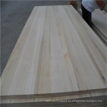 Fsc Paulownia Tablero de madera para marco de puerta de muebles