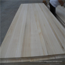 Fsc Paulownia Wood Board for Furniture Door Frame