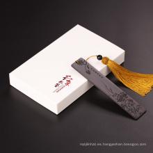 FQ marca boutique estilo chino recuerdo personalizado marcador de madera