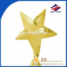 Творческие награды сувениры золотые пятизвездочный трофей