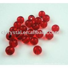 Matériau brut en cristal pour les perles