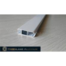 Perfil Pesado de Perfil de Trilho Inferior de Alumínio com Cor Branca