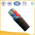 Cu / XLPE / SWA / PVC a armé des câbles 0,6 / 1KV 25mm 35mm 50mm 75mm 95mm 120mm 150mm 185mm