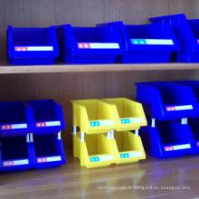 Poubelle combinatoire bin de stockage de pièces en plastique